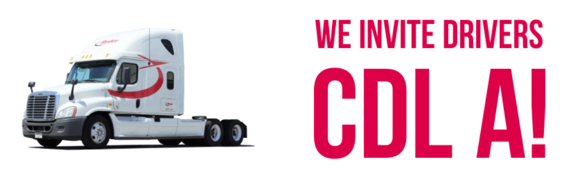 WE INVITE DRIVERS CDL A!! YOU CAN' AFFORD TO MISS THIS